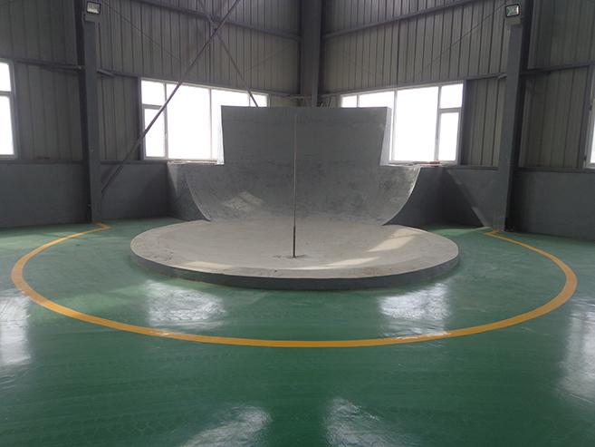 300噸轉爐爐底模型